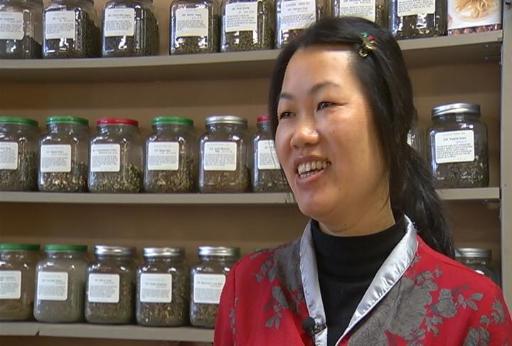 Dim Sum Tea Shop owner Kelly Dang