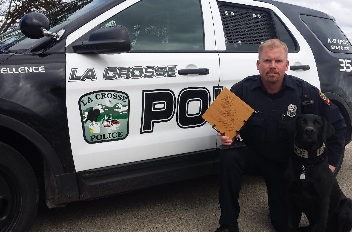 Photo courtesy La Crosse Police Department