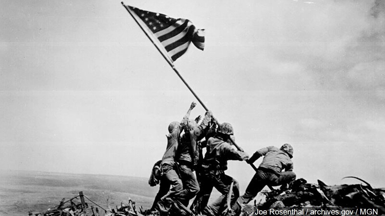 Marines: Identities of Iwo Jima flag raisers were mistaken