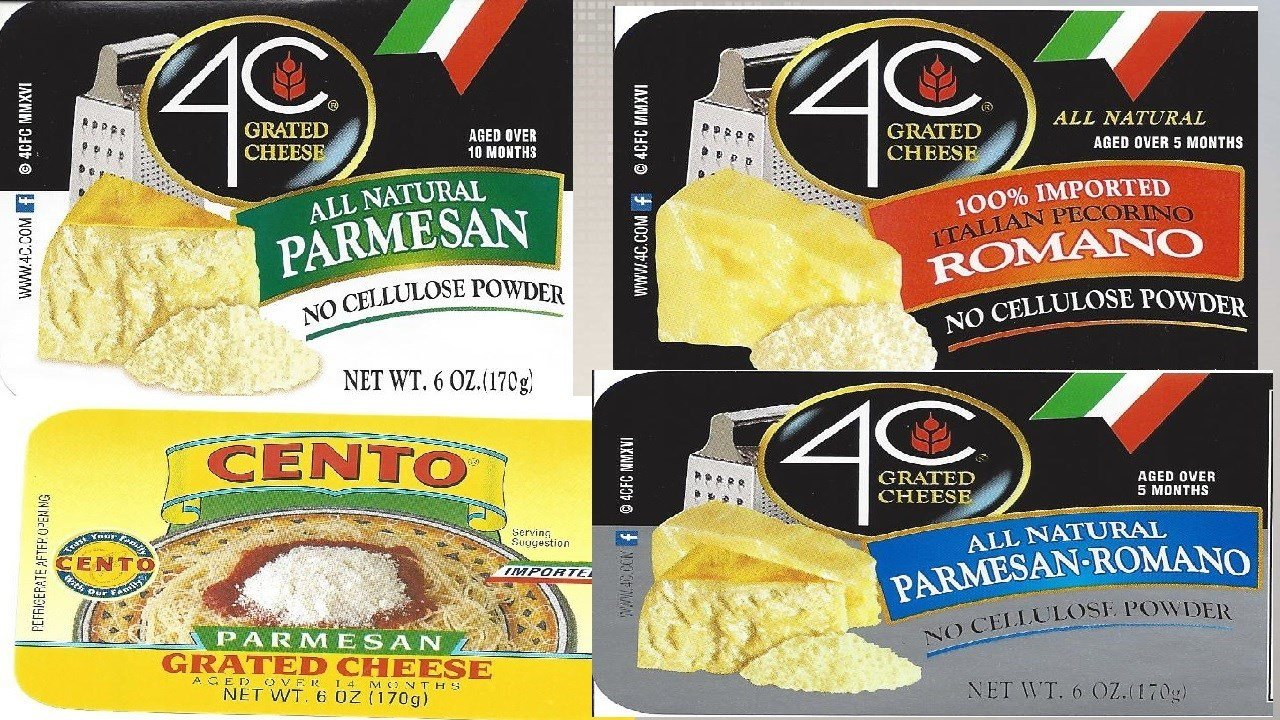 4C Foods grated cheese recalled due to salmonella