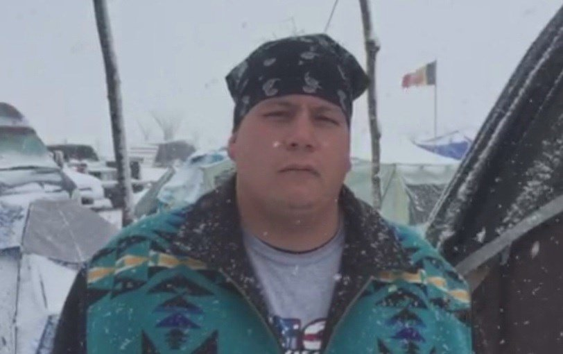 Tribal Leader Asks Dakota Pipeline Protestors To Go Home