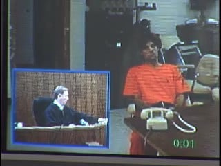 Larry Schaffer in Monroe Co. court in 2006 on unrelated charges