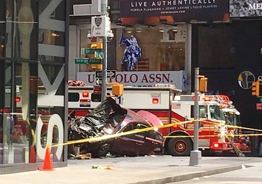 Dead, 22 Injured After Car Accident In Times Square