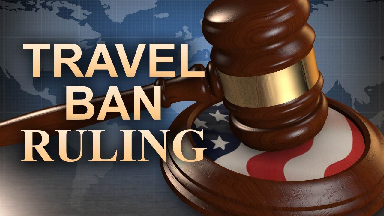 Appeals court rules against President Trump's travel ban