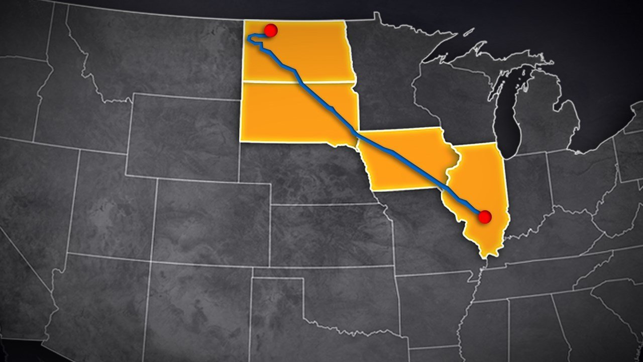 Crude Oil Begins To Flow Through Controversial Dakota Access Pipeline