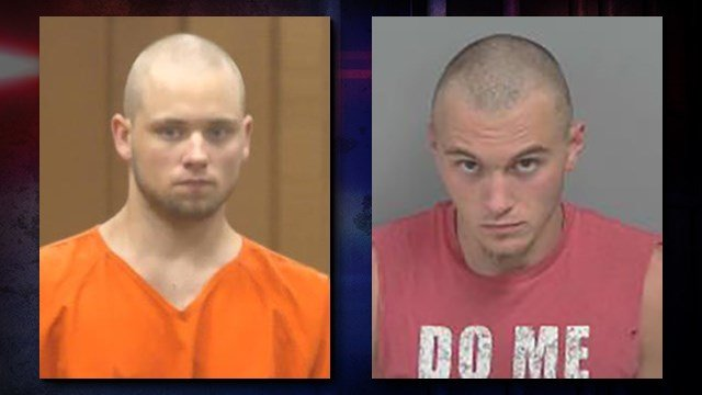 Wyatt Helfrich left, and William Wallraff, right.