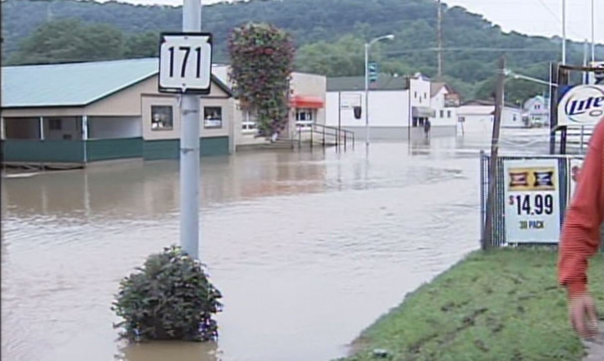 Downtown Gays Mills in 2007