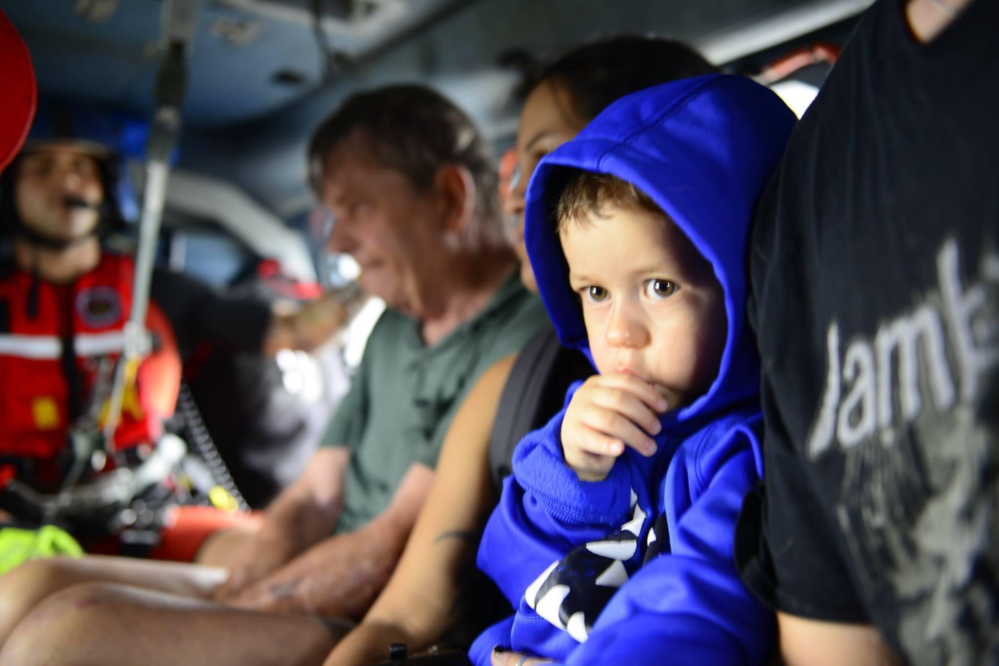 U.S. Coast Guard rescue of Hurricane Harvey victims along the Texas coast. U.S. Coast Guard photo by Petty Officer 3rd Class Johanna Strickland.