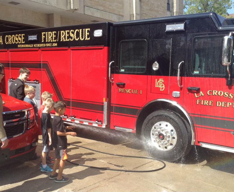 Photo courtesy La Crosse Fire Department