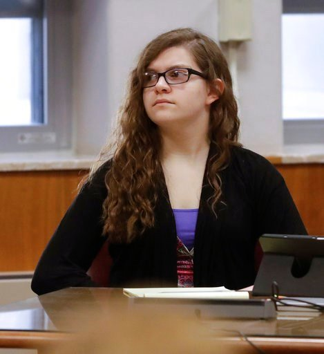 (AP Photo/Morry Gash, Pool). Anissa Weier listens during jury selection in her trial at Waukesha County Courthouse Monday, Sept 11, 2017, in Waukesha, Wis