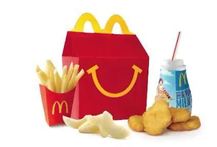 McDonald's Happy Meals Are Getting Healthier