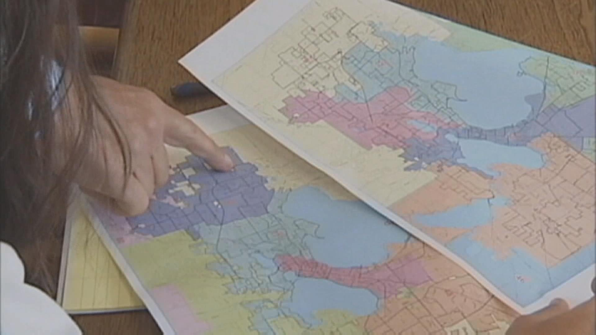 Supreme Court divided over partisan districting