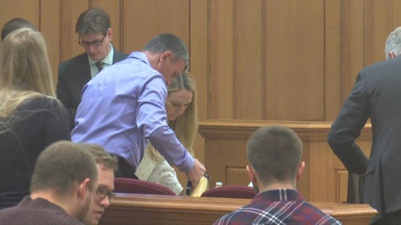 Todd Kendhammer prepares for trial on Wednesday December 13.