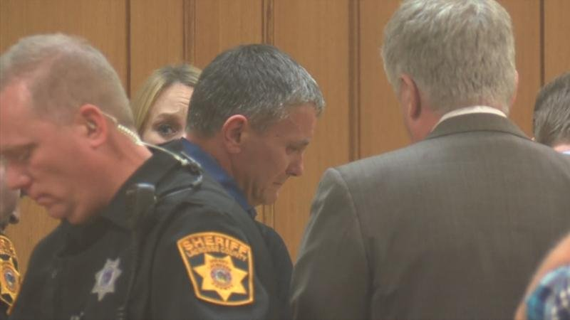 Todd Kendhammer following the guilty verdict Thursday night.