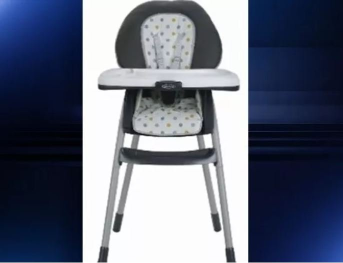 Graco High Chairs Recalled after Five Children Hurt