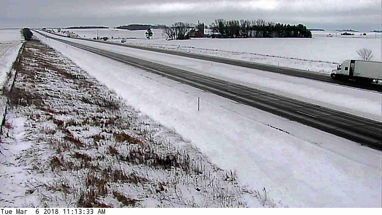 I-90 near Eyota. Minnesota Department of Transportation photo