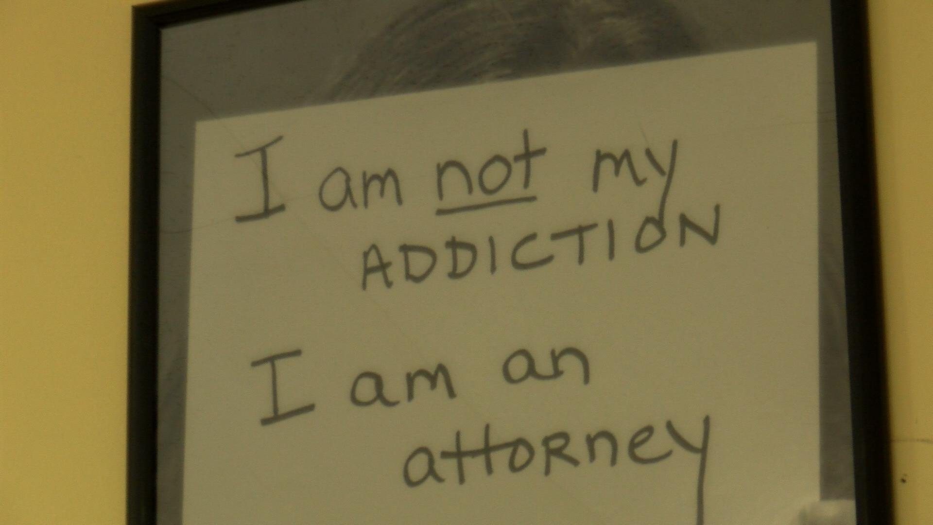 Picture hanging on wall at Coulee Council on Addictions.