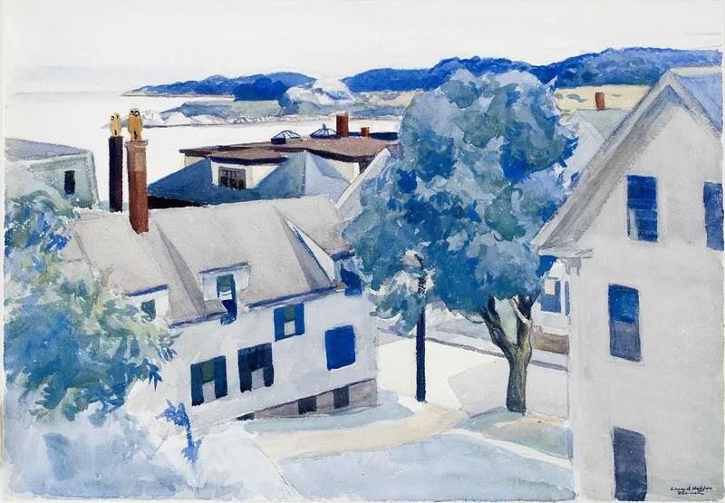 Edward Hopper-Sultry Day (1928)