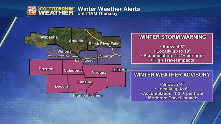 Winter Won't Let Go: Iowa Seeing Hail, Sleet, and Snow