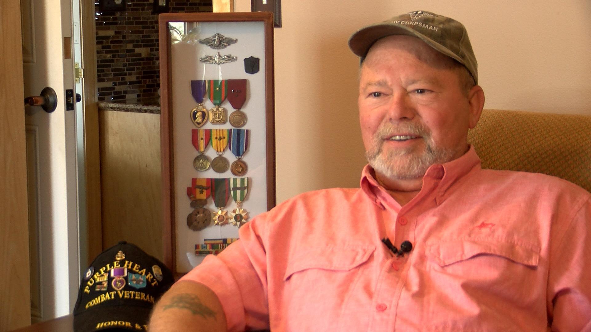 Veterans take 'Honor Flight' to military memorials in Washington