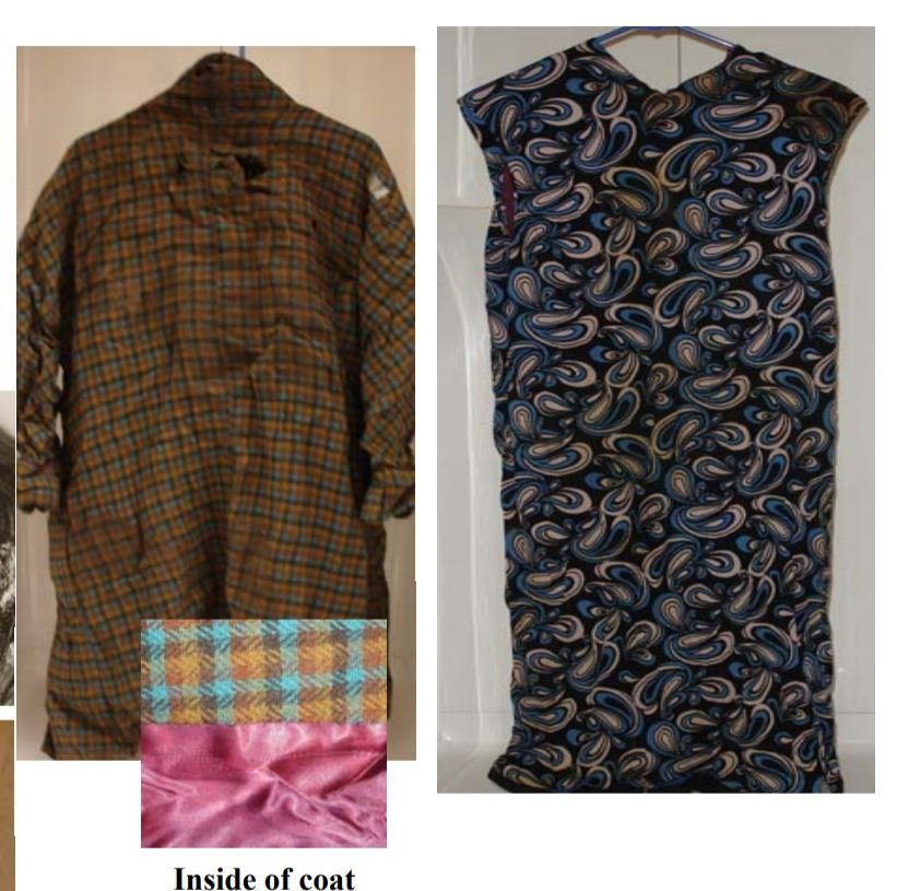Clothing worn by the victim found near Westby in Vernon County on May 4, 1984.