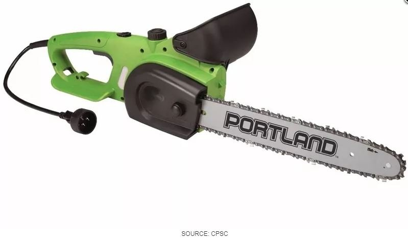 1M chainsaws recalled because they may not turn off