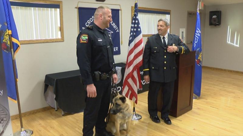 La Crosse's newest police officer, K-9 Zeus.