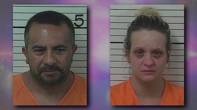Juan Gabriel Aguilar, left, and Jolene L. Gadbois, right. Photos courtesy Jackson County Sheriff's Office