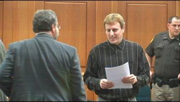 Eric Koula walks into court.