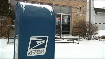 File: Bangor Post Office when it closed in January, 2012