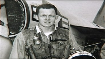 Capt. Charlie Plumb prior to being shot down over Vietnam