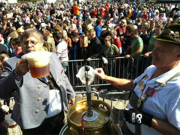 The Tapping of the Golden Keg