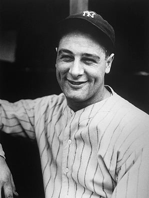 Lou Gehrig-CNN photo