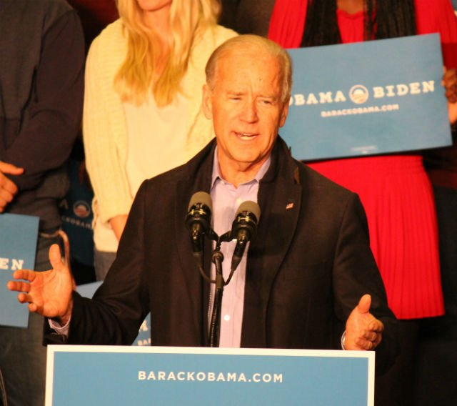 Vice President Joe Biden at UW-La Crosse on October 12, 2012