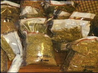 Marijuana seized in 2010