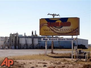 The Sunland Inc. peanut butter and nut processing plant in eastern New Mexico, which has been shuttered since late Sept. due to a salmonella outbreak that sickened dozens.  Courtesy AP.