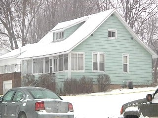 January 20, 2012-Home where Jacob Olsen was shot after pointing rifle at Sparta Police Sgt. Booker Ferguson