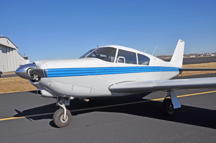 Piper Comanche similar to the one that crashed.  Courtesy jofair.com