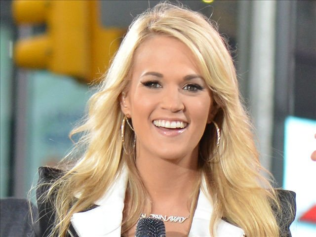 Carrie Underwood, one of the hosts of tonight's CMA awards show