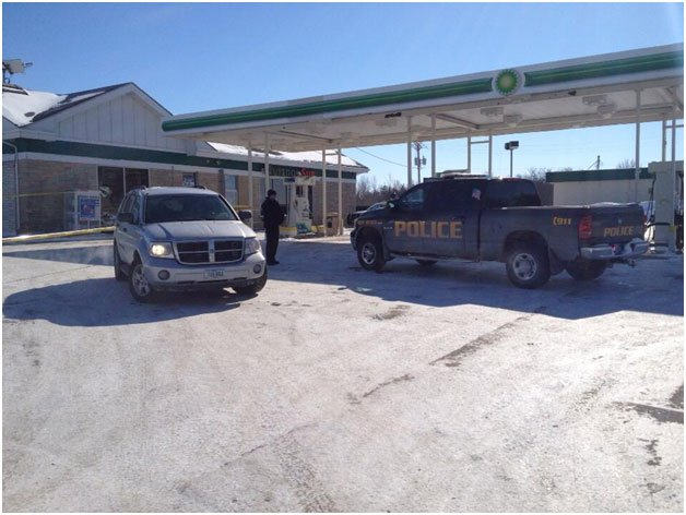 Gas station in West Branch Iowa where Baby Kayden was found-KWWL photo