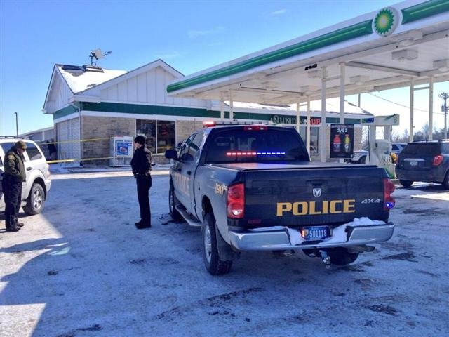 West Branch, Iowa gas station near where Baby Kayden was found