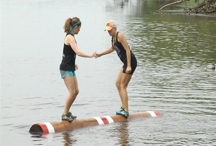 2 of the women professional competitors competing