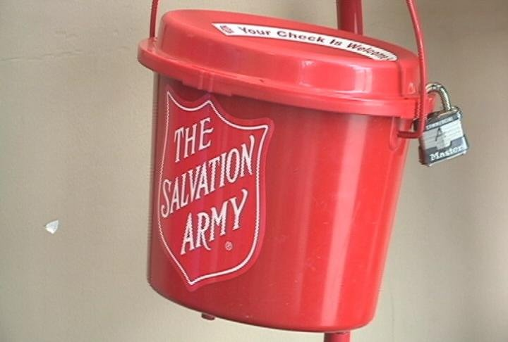 Salvation Army Kettle ~ Salvation army needs bell ringers for red kettle campaign
