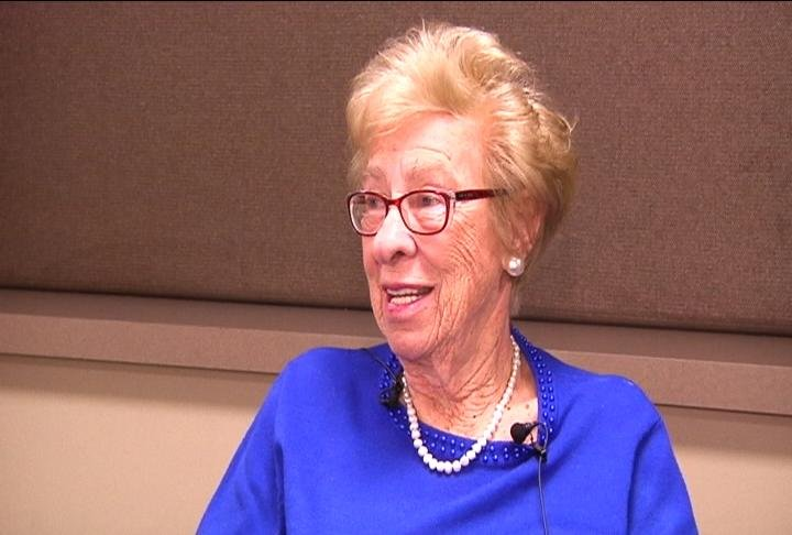 Eva Schloss tells her story to educate about the Holocaust and promote peace