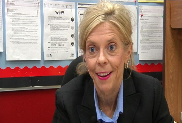 Deborah Markos, Principal Logan High School