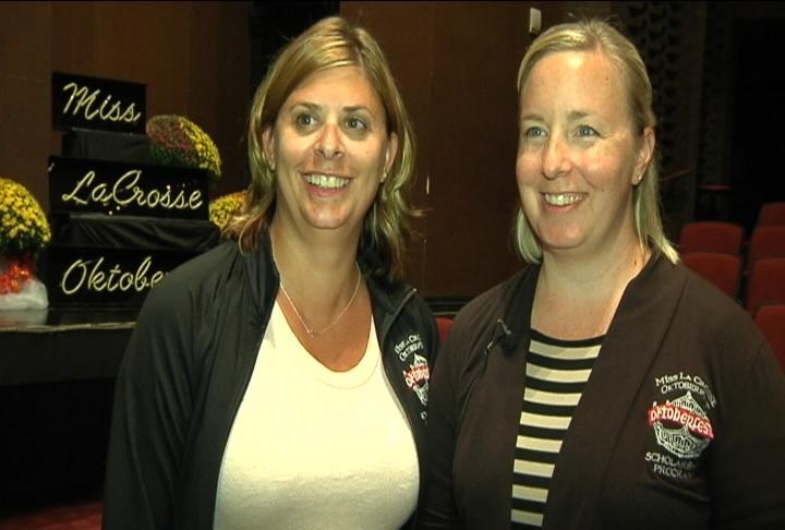 Lisa Horman and Amy Ryan, Co-Directors, Miss La Crosse/Oktoberfest