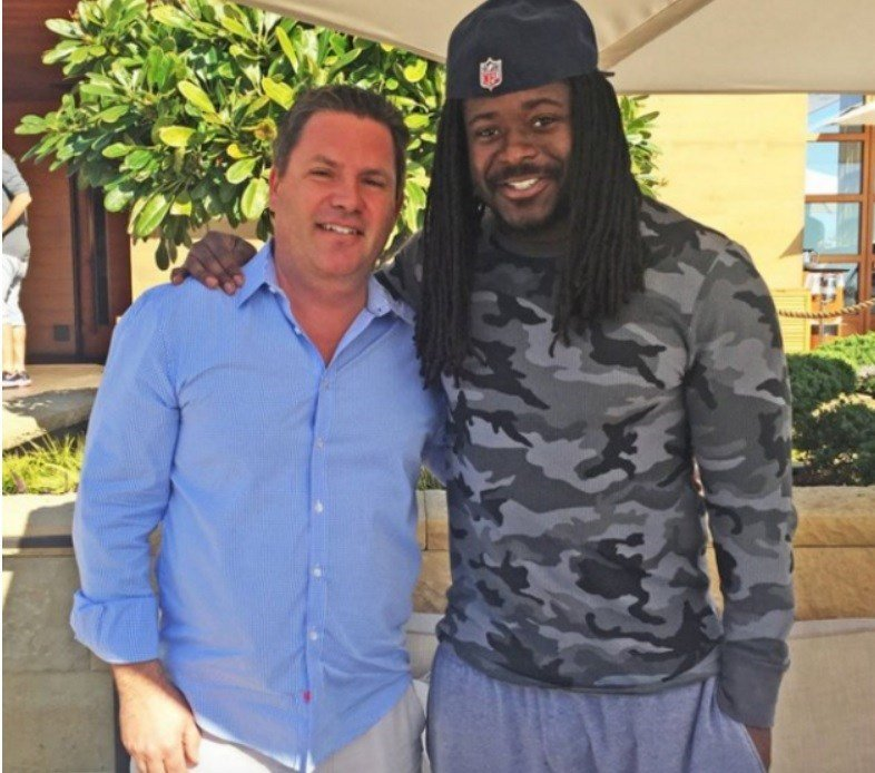 Eddie Lacy Before And After Photo shows Packer Edd...