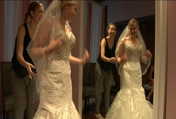 Local store participates in national bridal sale day for Wedding dresses la crosse wi