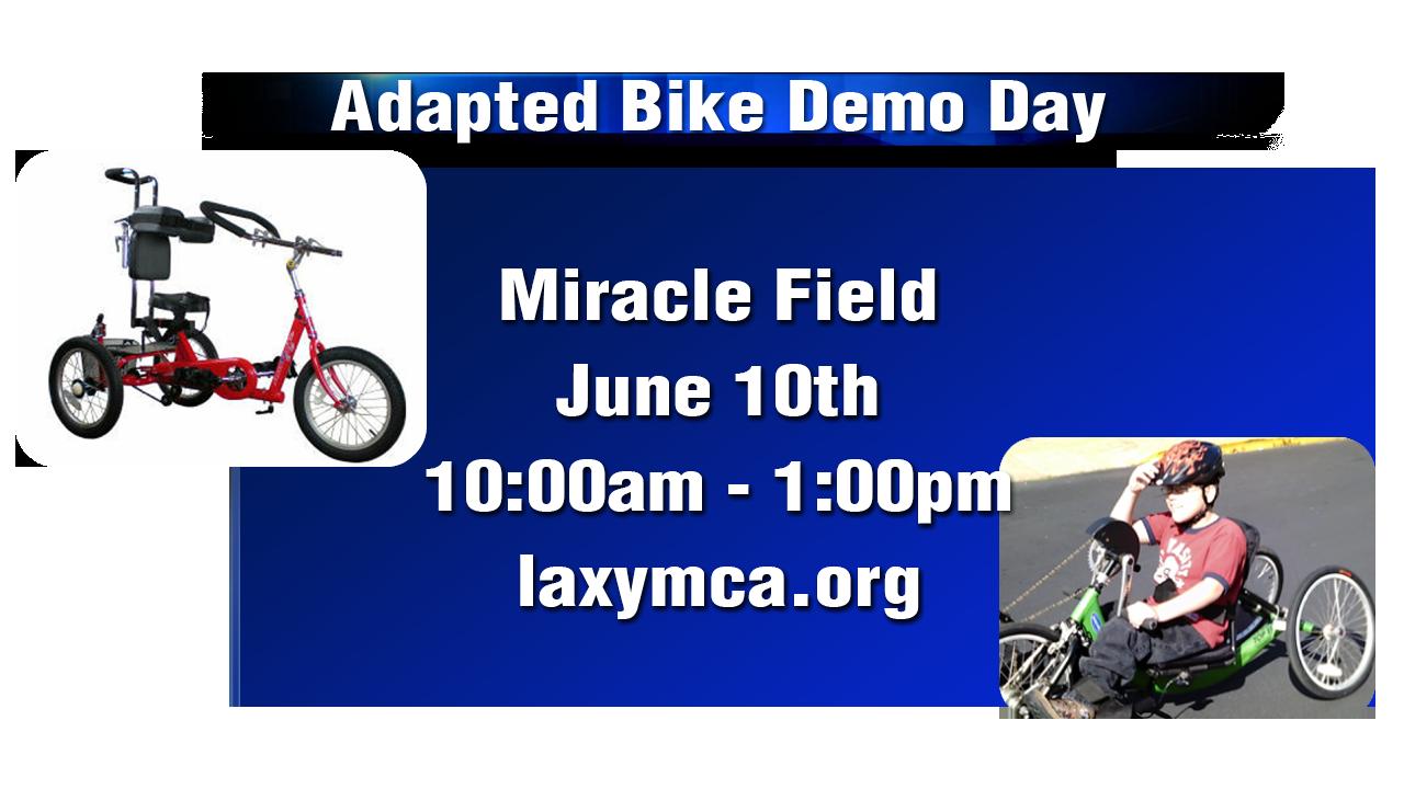adapted bike day helps get everyone on wheels - wxow news 19 la