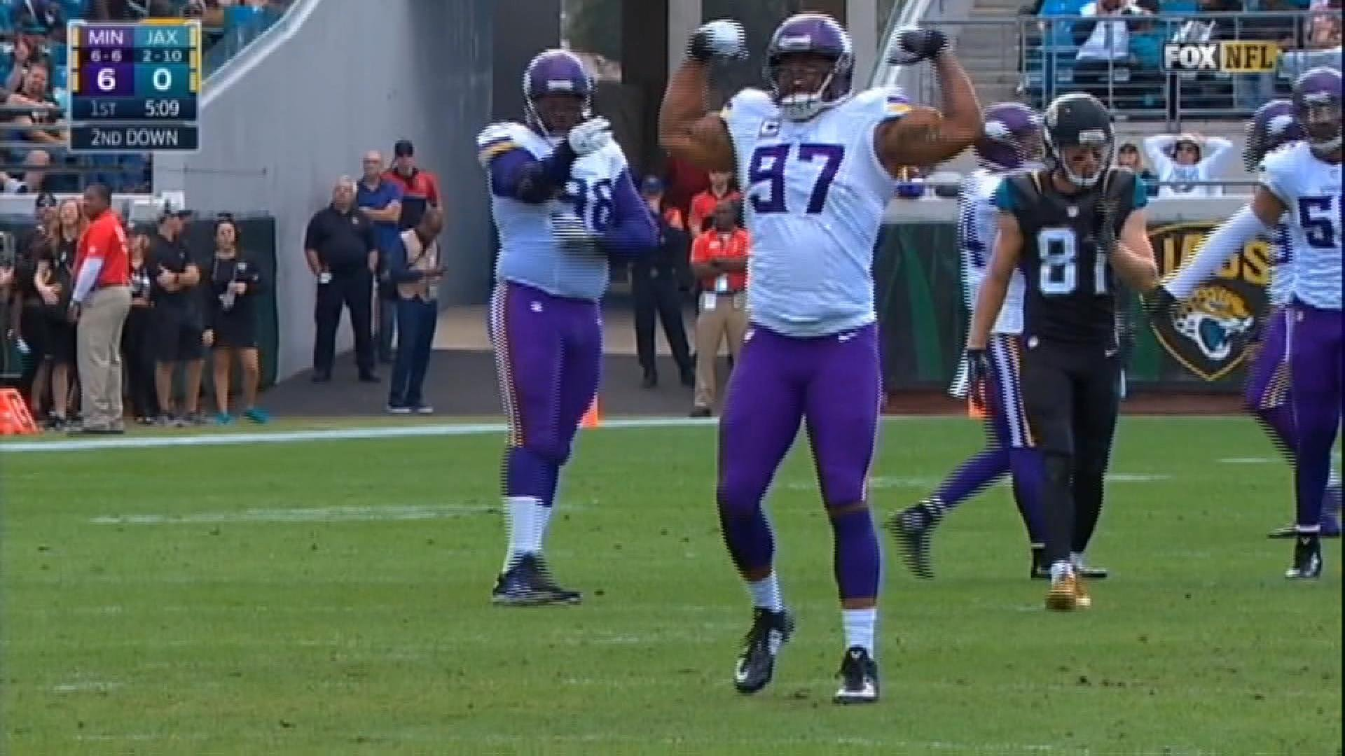 Vikings Sign Defensive End Everson Griffen To Four Year Contract